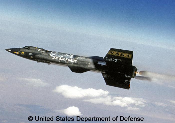 eXperimental, standard aircraft, basic mission : X-15
