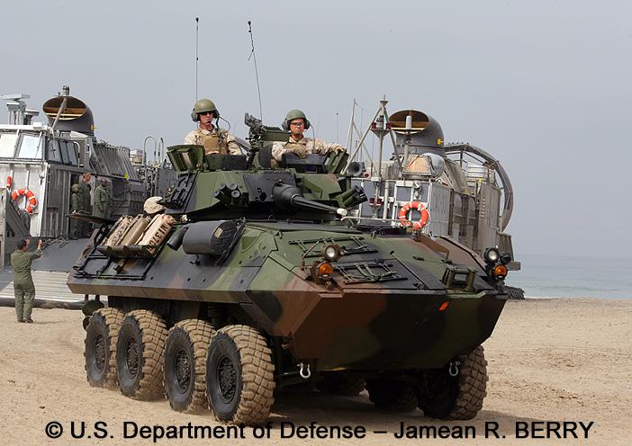 LAV : Light Armored Vehicle, Light Assault (LAV-25)