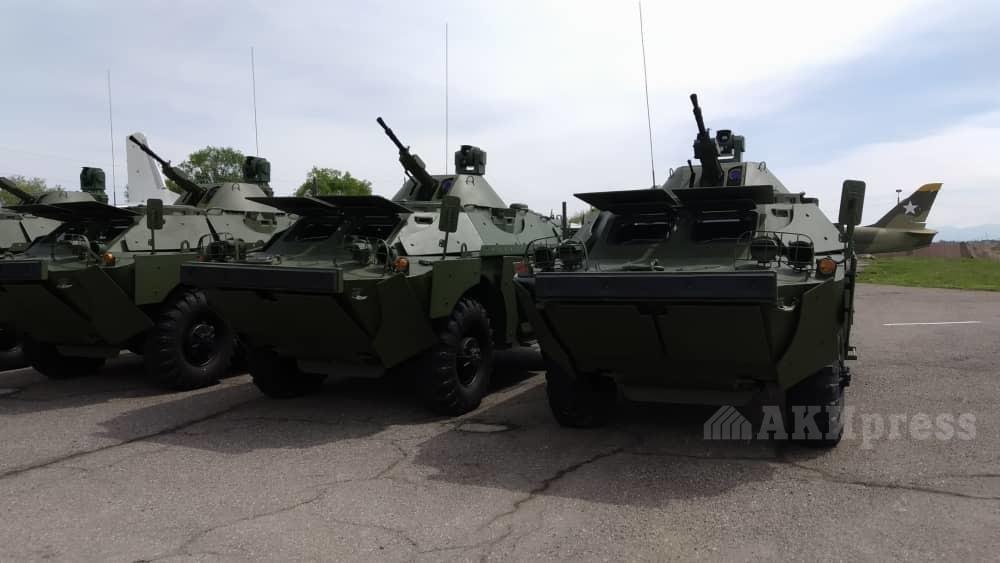 BRDM-2MS, Kirghizistan ; 2019