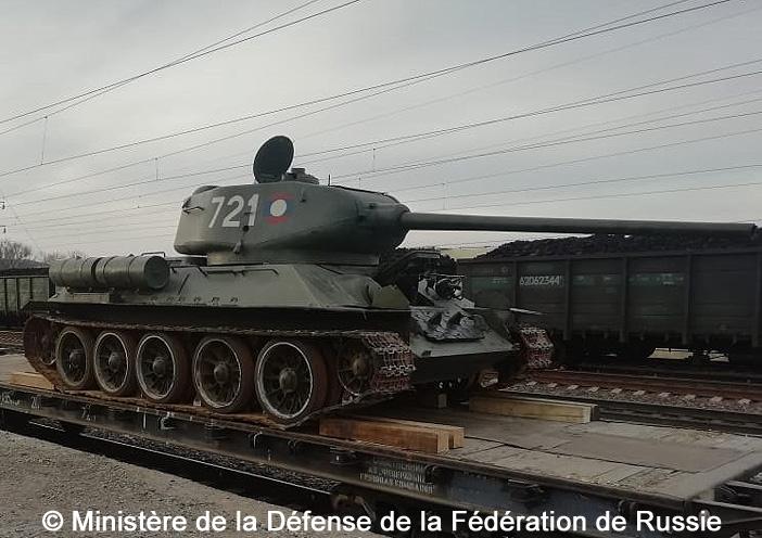 T-34-85 : retour dans la mère Patrie...