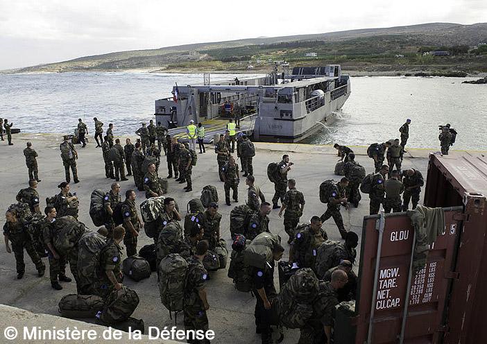 EDA-R (Engin de Débarquement Amphibie Rapide), L9095, Liban, opération DAMAN ; 2013