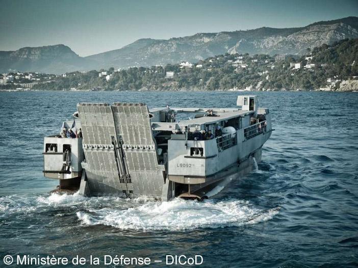 EDA-R (Engin de Débarquement Amphibie Rapide), L9092 ; 2012