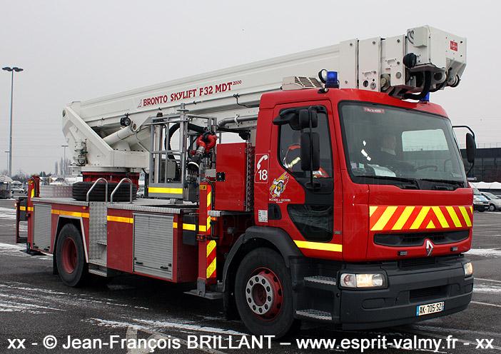 BEA 30 Bronto sur Premium 260, SDIS67, Strasbourg Nord ; 2010