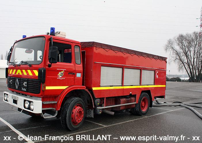 DAP sur G210, SDIS67, Centre de Secours Strasbourg-Ouest ; 2010