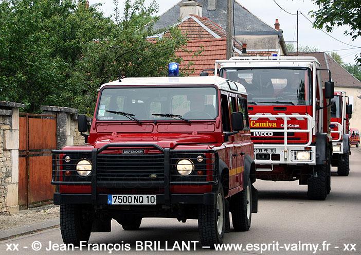 """Defender 110 Td5 """"Station Wagon"""", VLHR, 7500 NQ 10 ; SDIS10, Aix en Othe"""