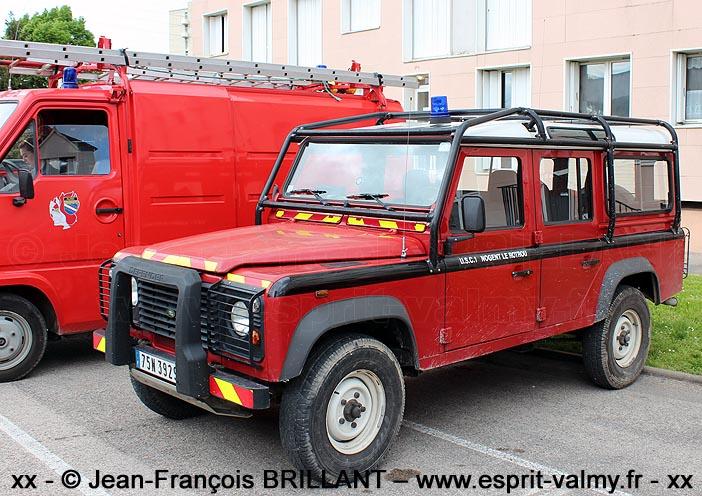 """Defender 110 Td5 """"Station Wagon"""", 75N-3929G ; Unité d'Instruction et d'Intervention de la Sécurité Civile n°1"""