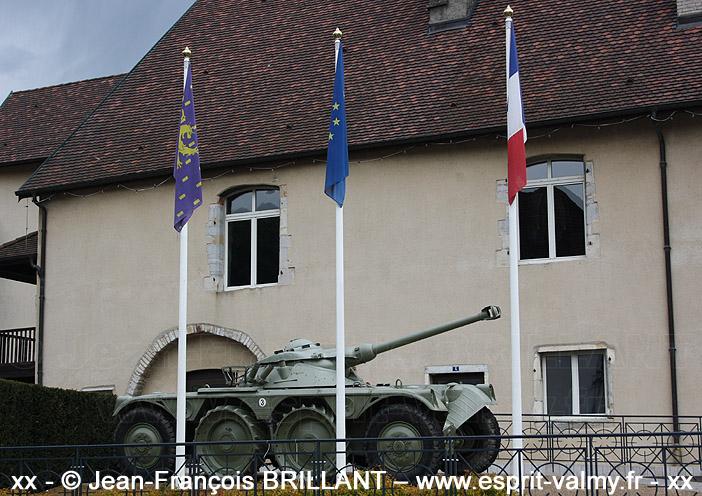 EBR 90F1, 608-0649, 3e Régiment de Hussards, Musée de la Mémoire et de la Paix ; 2012