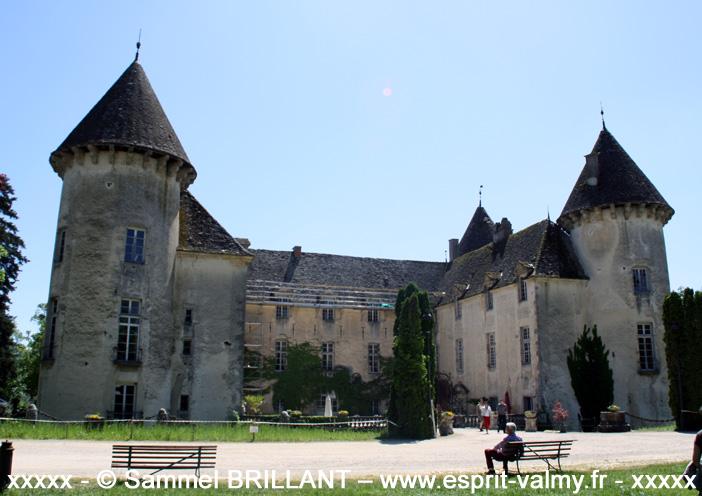 Savigny les Beaune : le château