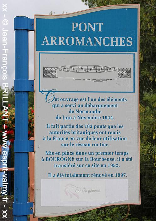 """Foussemagne (90) : le """"pont Arromanches"""""""